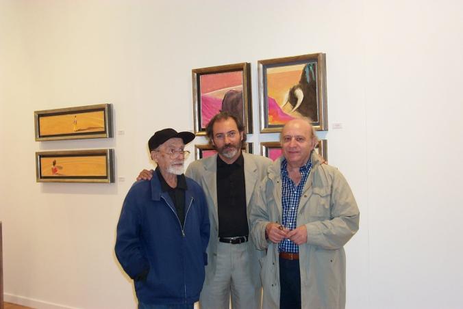 Ceramistas Miguel Vazquez y Miguel González
