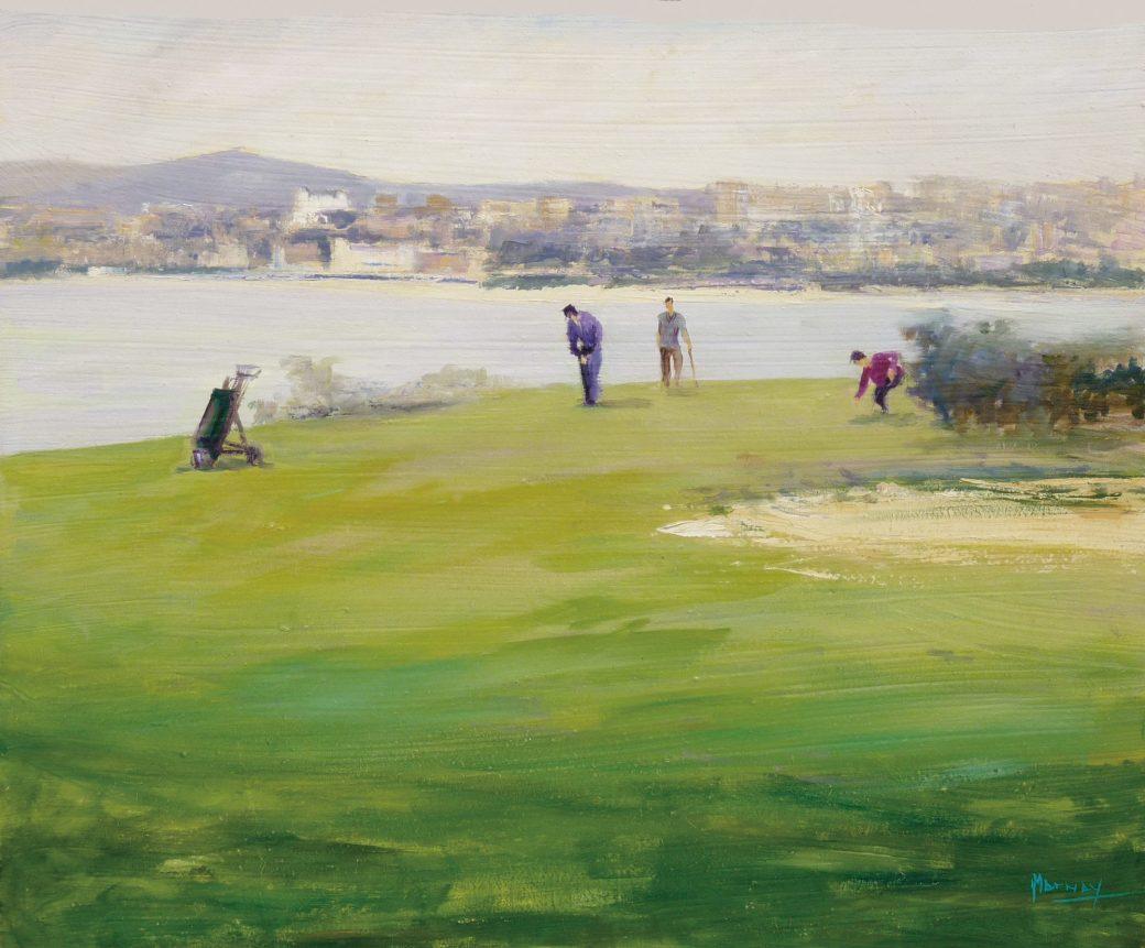 Desde el campo de golf de Mataleñas_46x38_2004