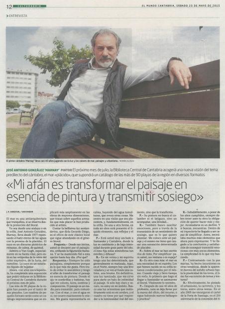 EL MUNDO (1). 23-may-15-Sábado. Biblioteca Central